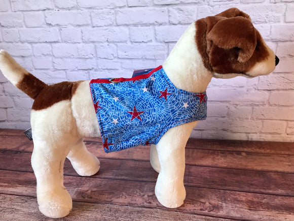 Patriotic Dog Walking Harness
