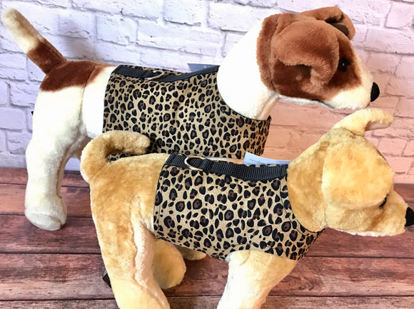 Leopard Spots Dog Walking Harness