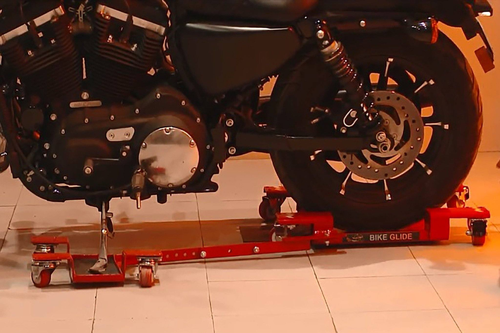 Motorcycle Parking Stand for easy parking