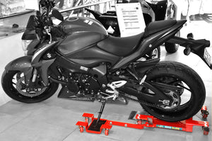 BikeGlide Motorcycle Dolly for Parking