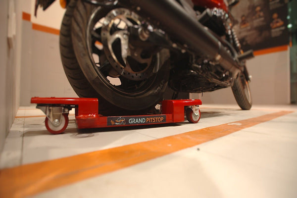 motorcycle parking dolly / stand