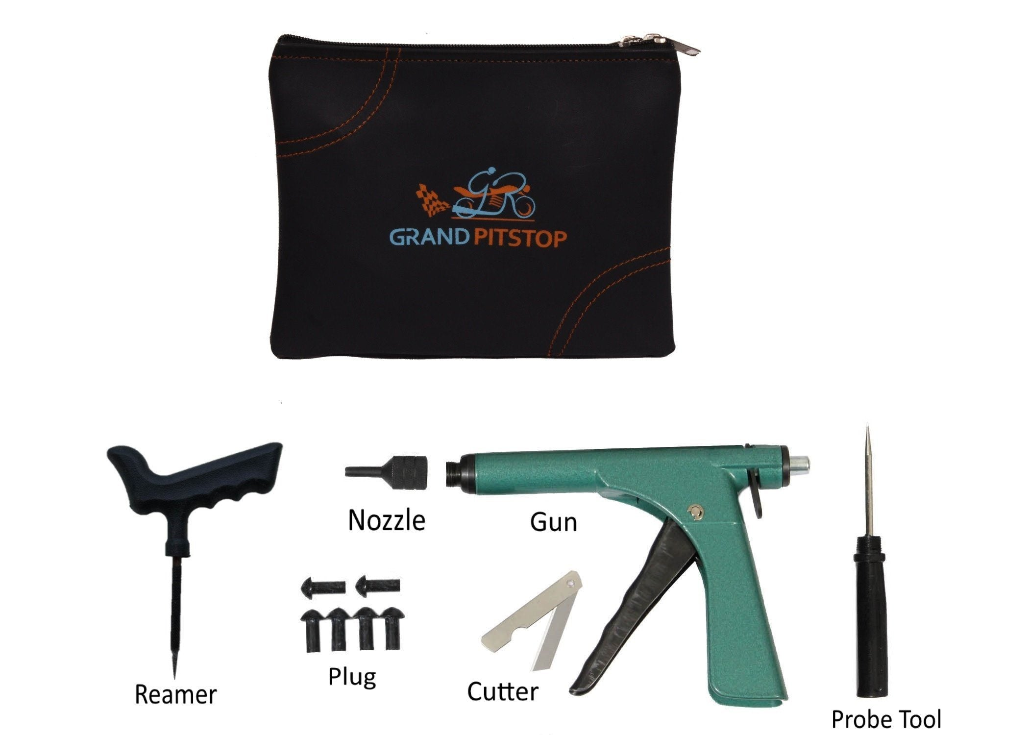 Gun - Tubeless Tyre Puncture Repair Kit