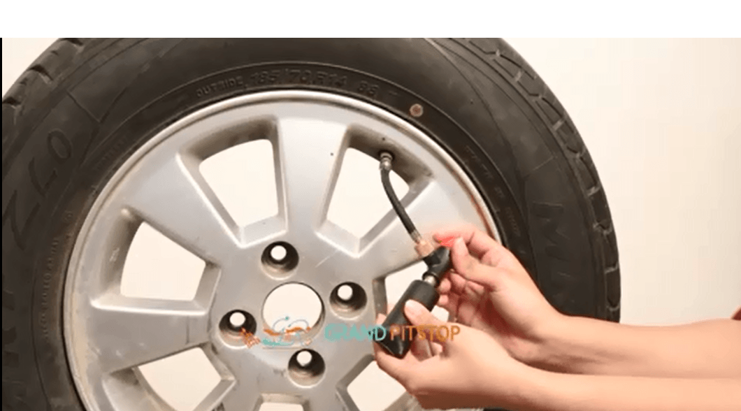 Gun & Inflator Combo - Tubeless Tyre Puncture and Inflation Solution