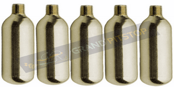 CO2 Inflation Cartridges, GR-CO2  16G threaded (Pack of 5): Tyre Inflation Solution