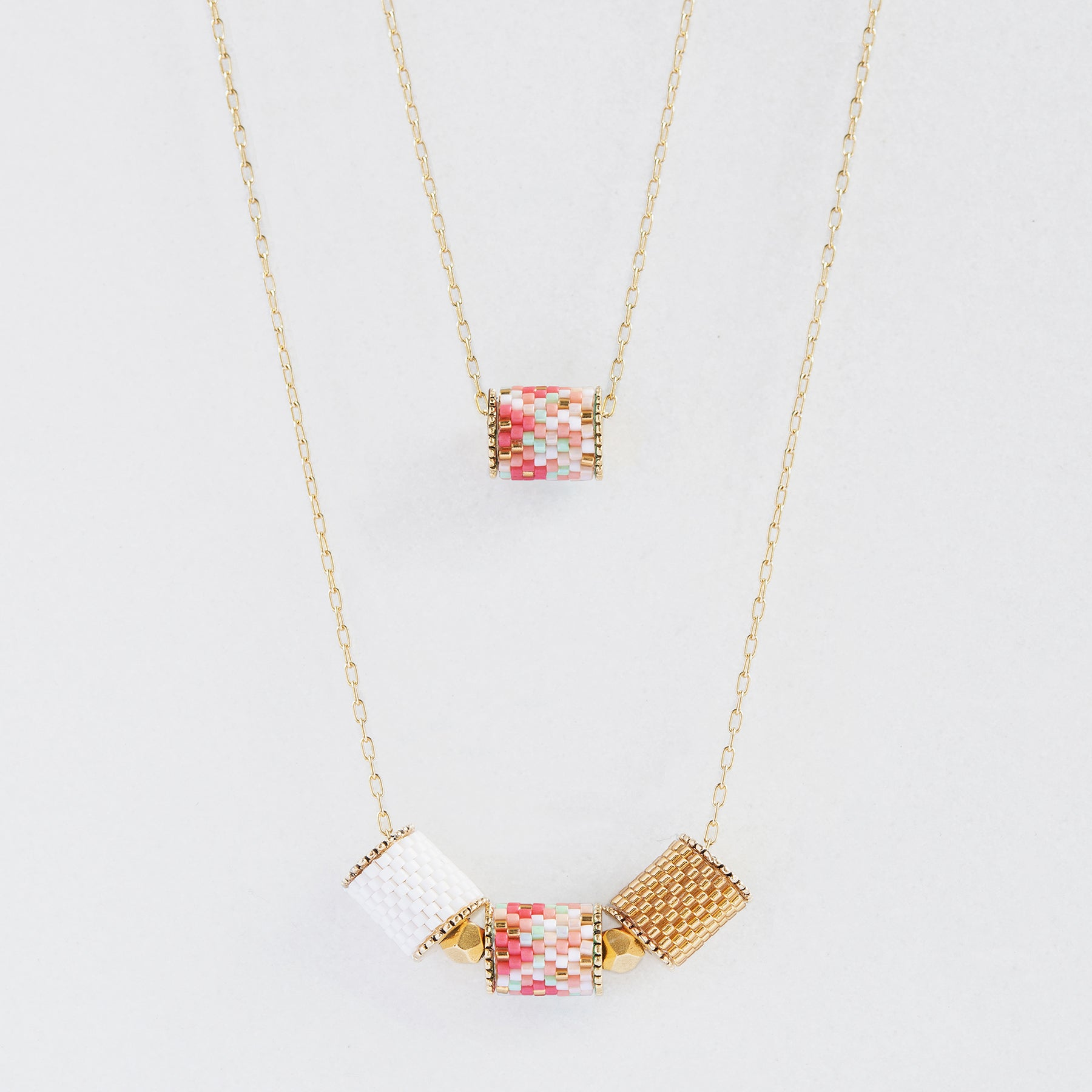 Artisan jewelry cherry blossom collection