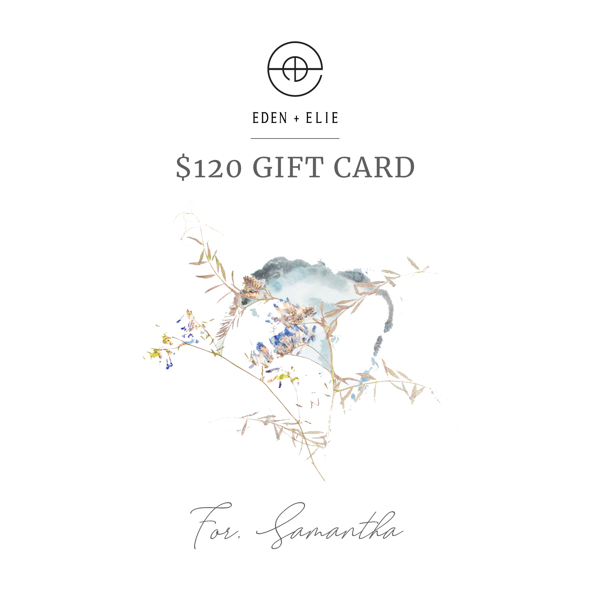 Gift cards EDEN + ELIE jewelry store Singapore