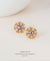 EDEN + ELIE Andromeda stud earrings - giselle
