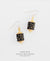 EDEN + ELIE Everyday drop earrings - black gold dots