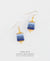 EDEN + ELIE Everyday drop earrings - mist serenity gradient