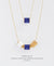 EDEN + ELIE Mother-Daughter twinning necklaces set - serenity blue