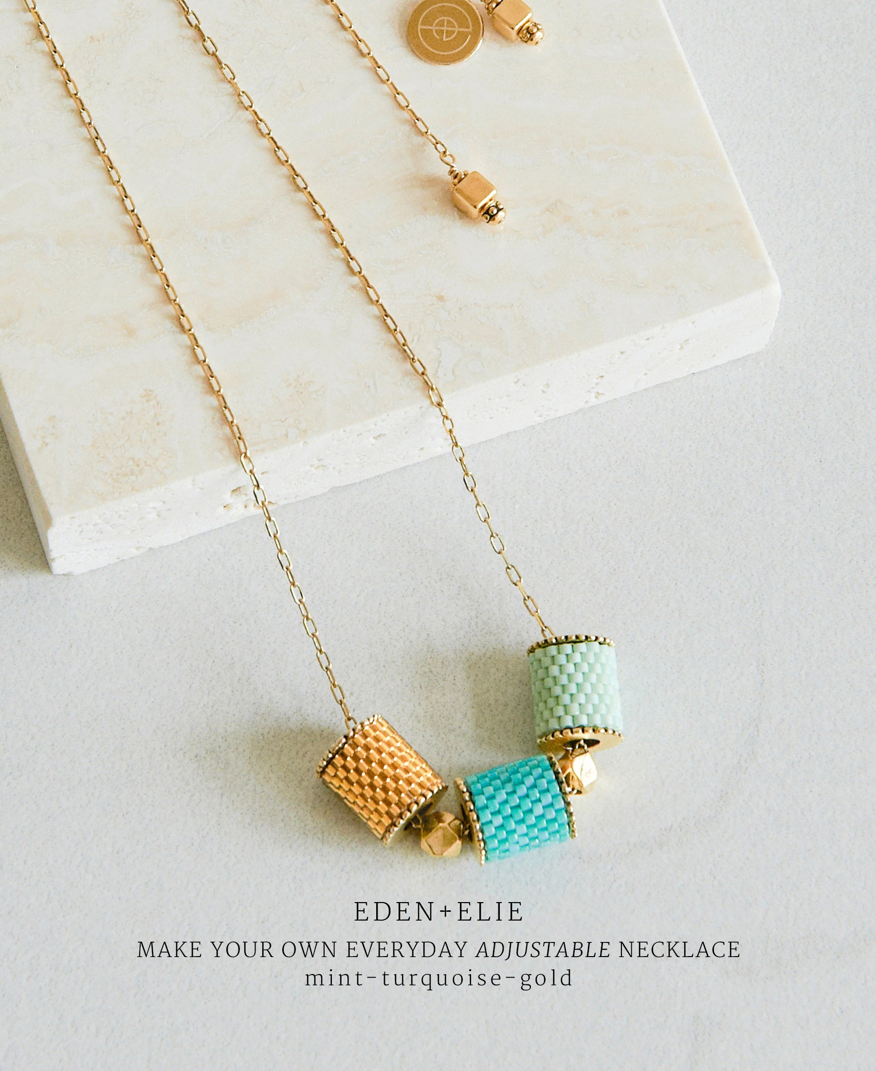 EDEN + ELIE Everyday adjustable length necklace - make your own