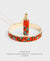 EDEN + ELIE Modern Peranakan capsule pendant necklace + bangle gift set - vermilion