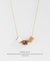EDEN + ELIE Modern Peranakan adjustable length necklace - amethyst