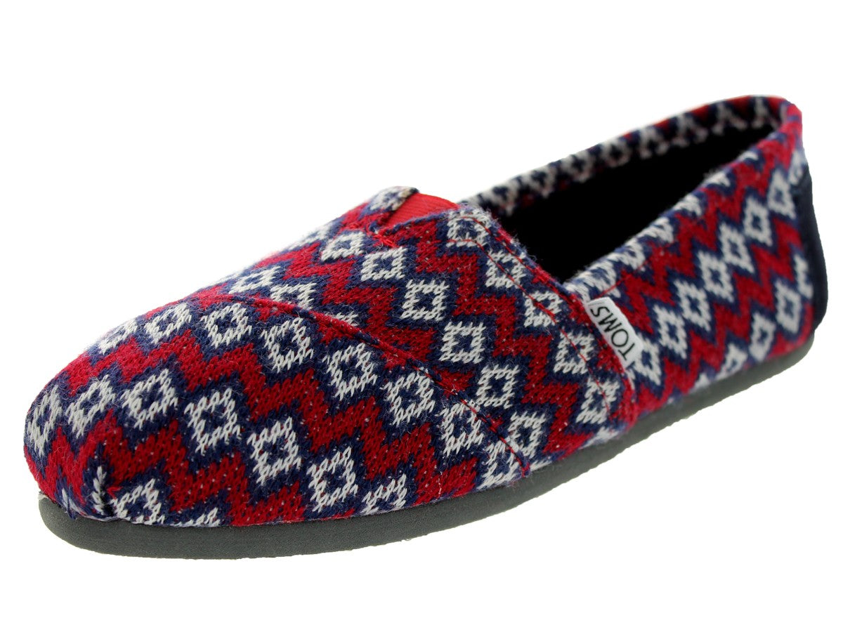 Toms Women's Classic Knit Casual Shoe10002849   NAVY