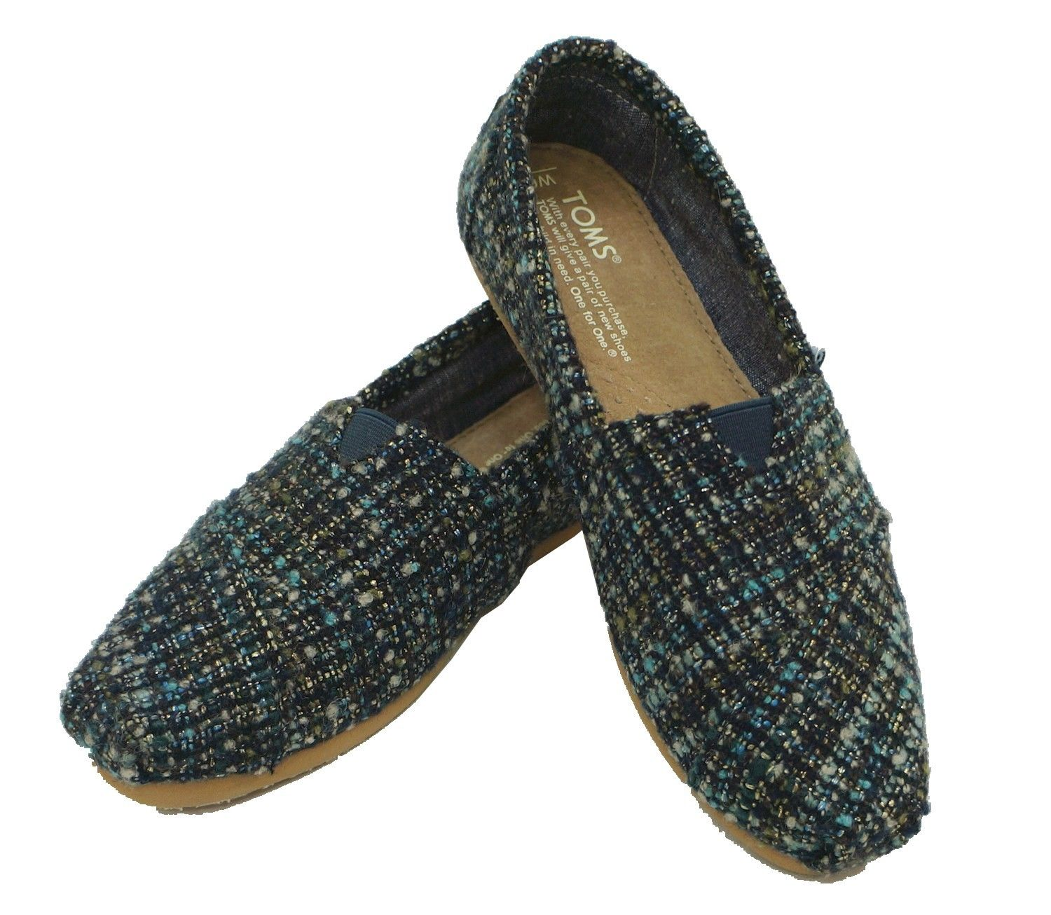 Toms Classic Women Blue Loafer 10003625