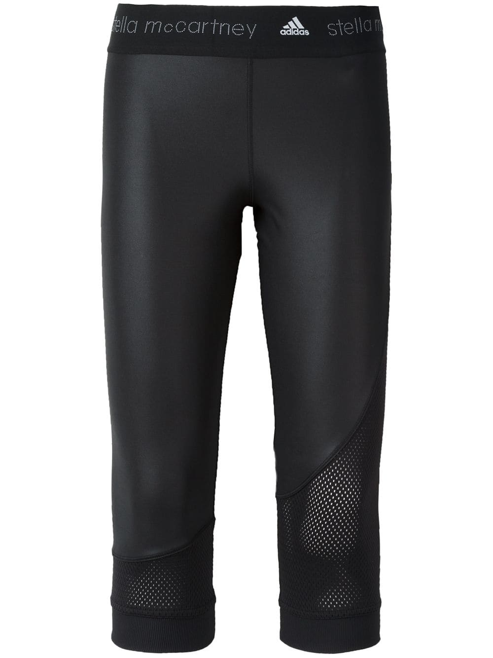 Women Stella McCartney Training Tight 3/4 Pants Black Regular S99055