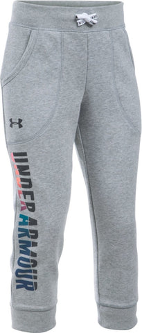 UA Favorite Fleece Girls' Capris 1281132-025