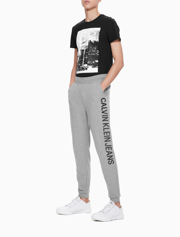INSTITUTIONAL LOGO SWEAT PANTS J312296-Beige