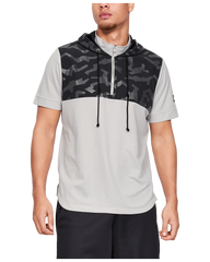 (This item available end of April 2021) Men's UA Pursuit Short Sleeve Hoodie 1326754-009
