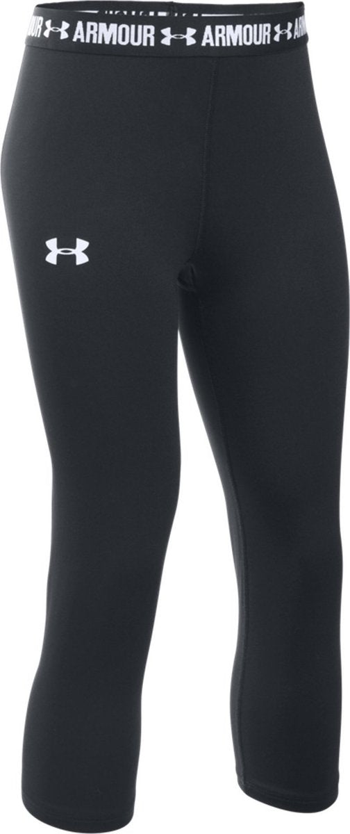 UA HeatGear® Armour Solid Young Girls' Capris 1271021-001