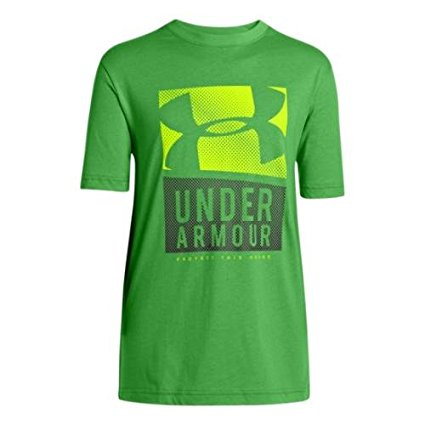 Under Armour PTH Boys Shirt Short Sleeve T green 1242871-373