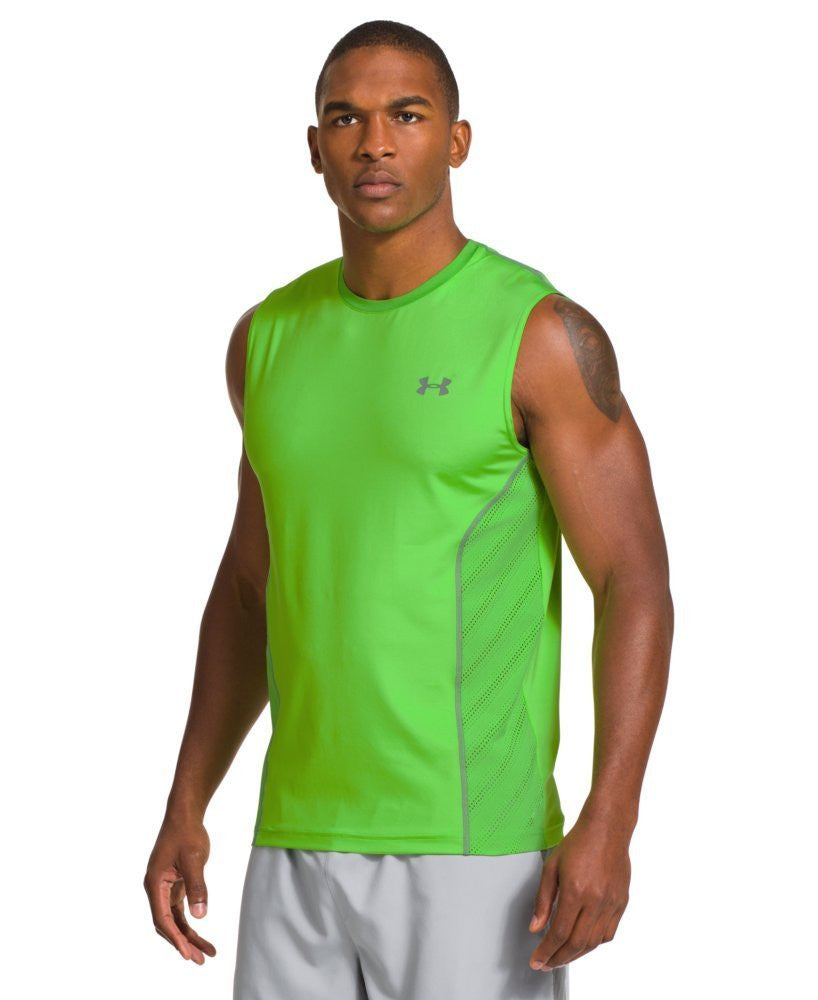 Men's HeatGear® Sonic ArmourVent Sleeveless 1243334-326