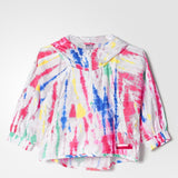 Adidas STELLASPORT Tie-Dye Training Jacket Womens White  AH8893