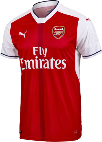 Puma Kids Arsenal Home Jersey 2016-17   749719 01