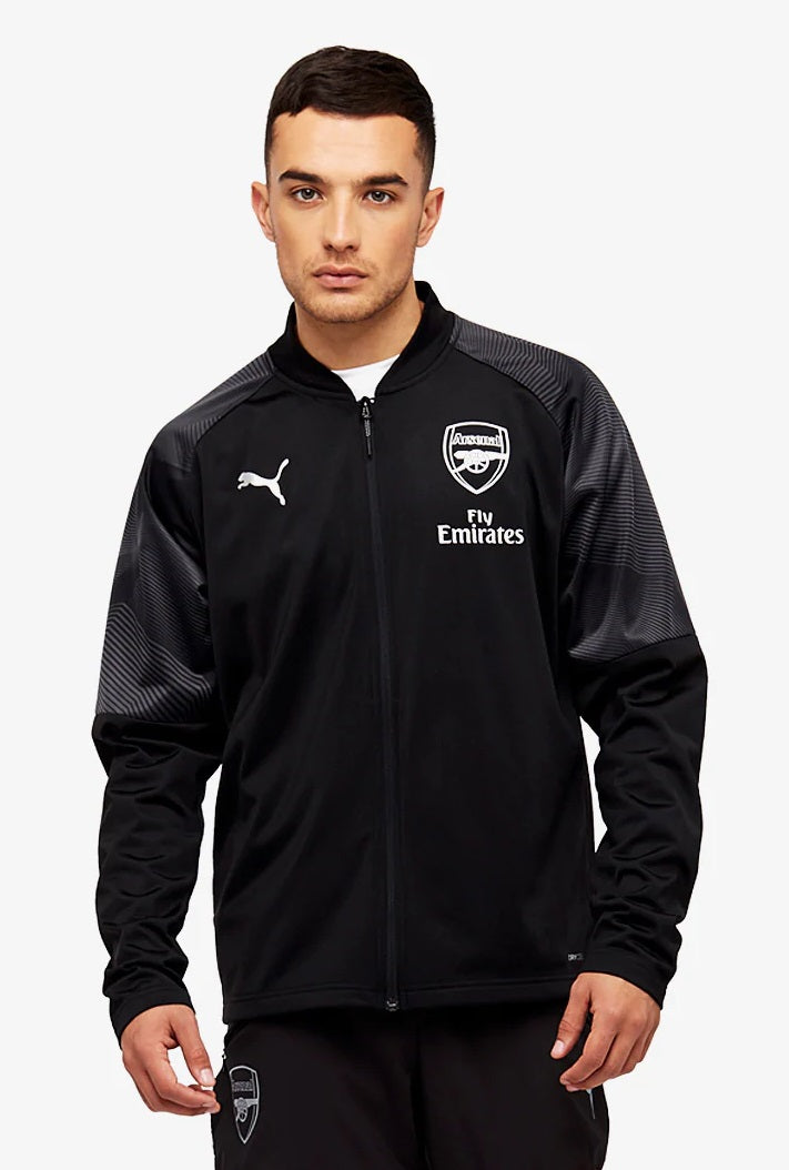 Arsenal FC Stadium Jacket WITH Sponsor Logo WITH zipped pocket 75462902