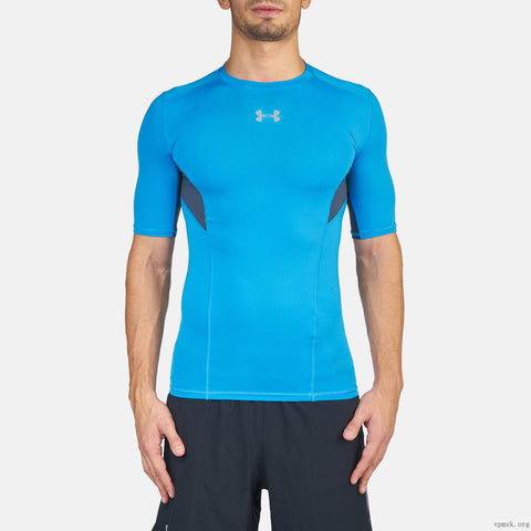 Men's UA CoolSwitch Short Sleeve Compression Shirt 1271334-787