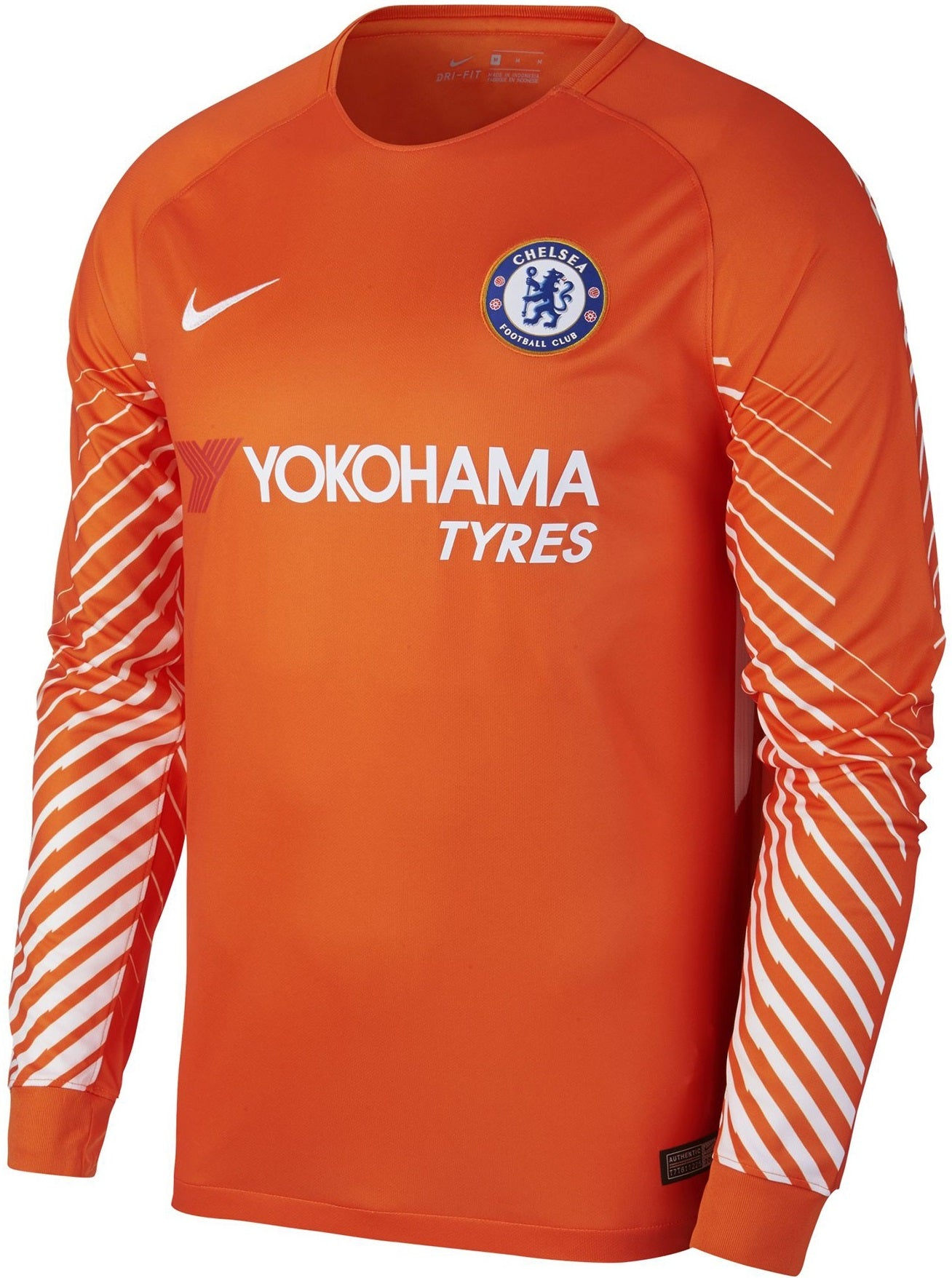 Chelsea Goalkeeper Jersey 2017/18 - Long Sleeves 905510-816