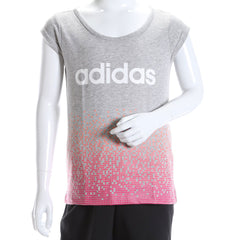 adidas Girls' YG W Fun T-Shirt  AK2044