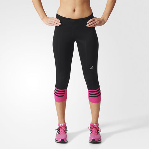 Women's running tights adidas Response 3/4 Tight W AI8292