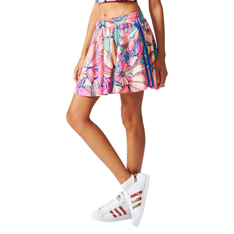 Adidas Originals Ladies Womens Flared Short Mini Skirt AJ8157