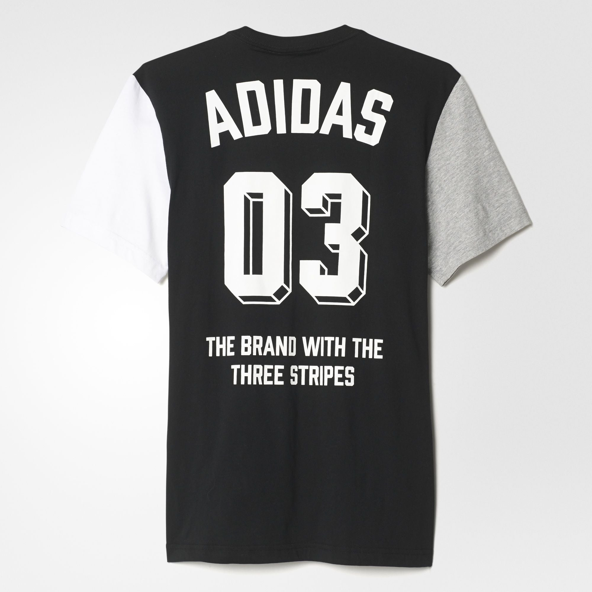 adidas Originals Boldpanel T-Shirt In Black AZ1048
