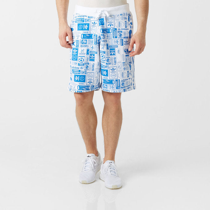ADIDAS WHITE STREET SHORT MENS AZ1103
