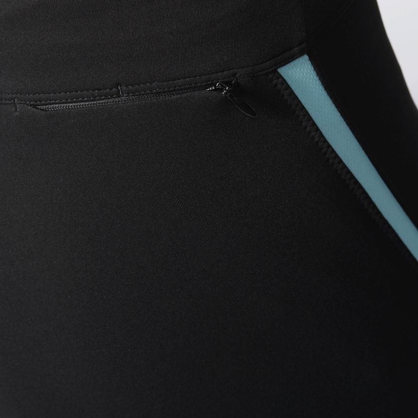 ad2e30e0be9 Adidas Response 3/4 Capri Womens Running Tights - Black B47766 ...