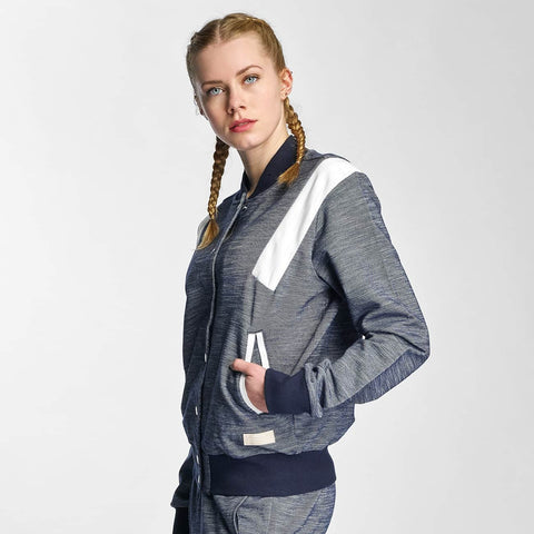 Adidas Jacket / Lightweight Tracktop In Blue Women BK6088