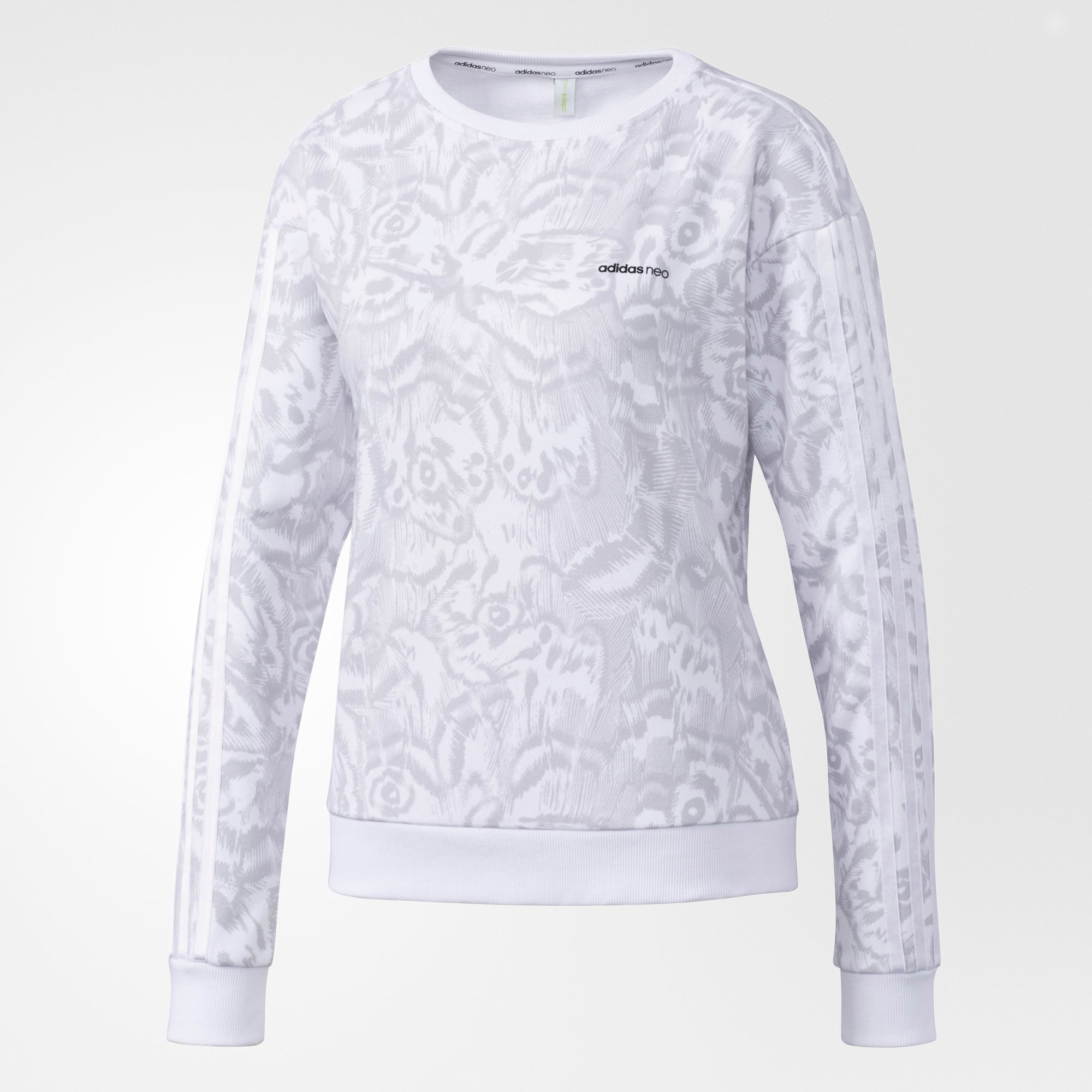 Adidas Women Butterfly Print Sweatshirt BP6614