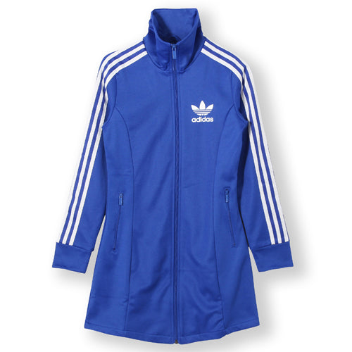 adidas S19845 Women Originals Europa LS Dress Blue/white