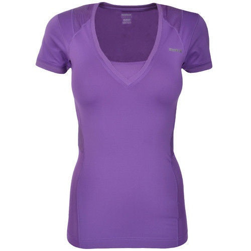 REEBOK X56723 T-SHIRT MAGLIA PALESTRA PLAYDRY EASYTONE FITTED ET