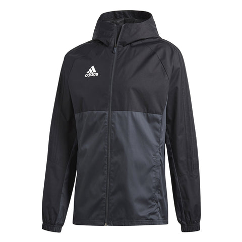 Adidas Tiro 17 Rain Jacket - Black/Grey AY2889