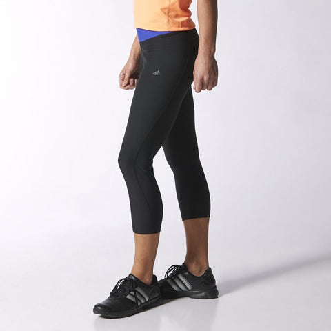 adidas Ultimate Fit Tights 3/4 - Black (S19400)