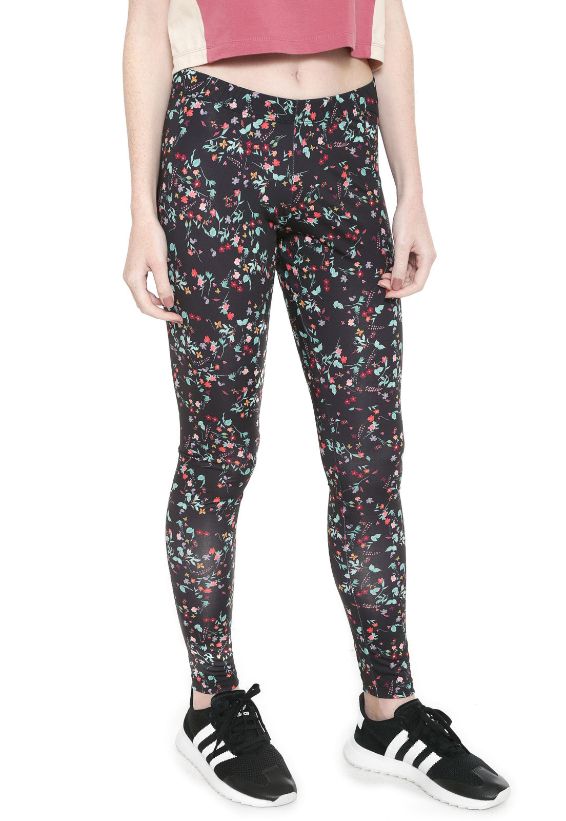 Adidas Originals Floral Tights Multicolor DH4240