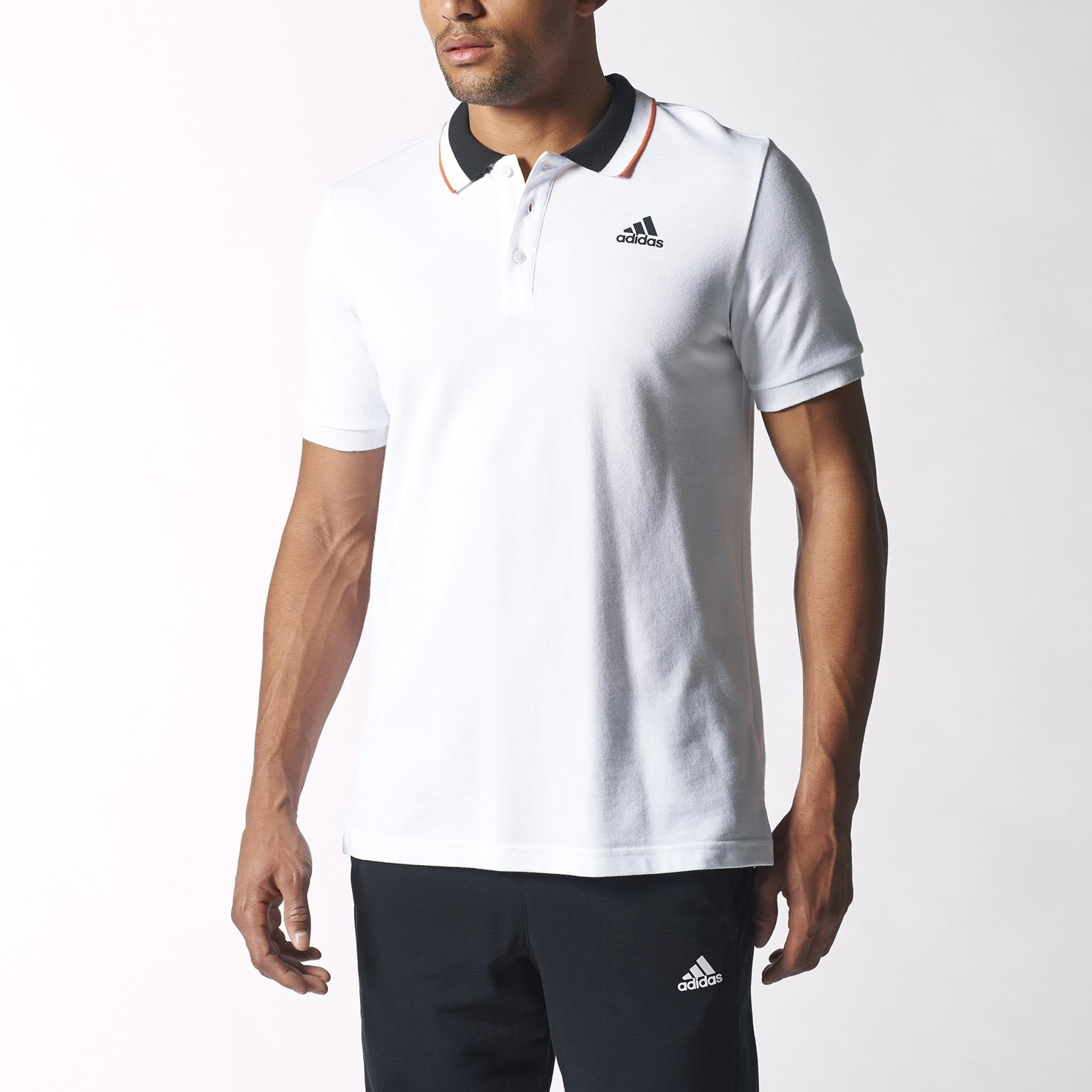 timeless design offer discounts cheapest price Adidas Sport Essentials Polo Shirt - White S12328