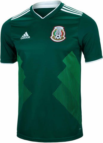 Adidas Men's Soccer Mexico Home Jersey BQ4701