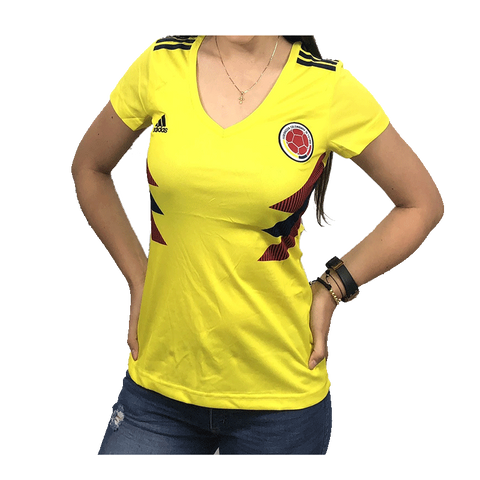 Adidas Women's Colombia Home Jersey 2018 BR3507