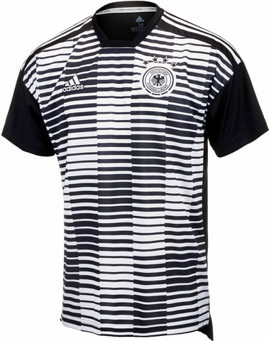 Adidas Germany Pre-match Jersey – White & Black CE6632