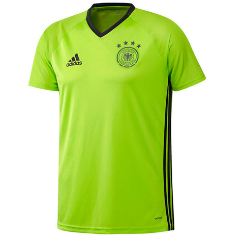adidas UEFA EURO 2016 Germany Training Jersey - Green (AC6544)
