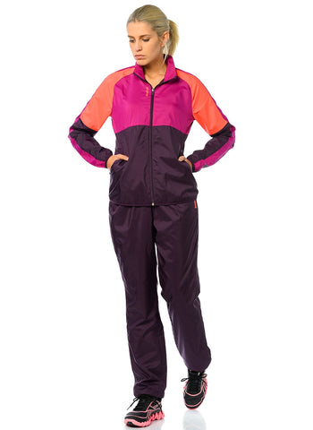 Reebok aa9429 Purple Ts Wov Training Tracksuit